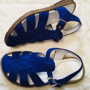 ❇️2/$17  Little Eric Beautiful Royal Blue Sandal